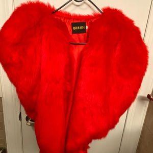 Faux fur vest/jacket